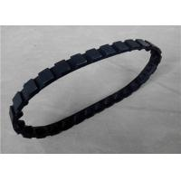 China Customized Robot Rubber Tracks Light Weight With Tension / Support Wheels on sale