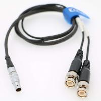 China Eonvic 0B 5pin to Double BNC Time Code Input Output Cable for Sound Devices XL-LB2 wholesale