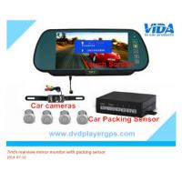 China 7inch bluetooth lcd car vehicle rear view rearview mirror monitor parking sensor wholesale