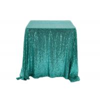 China 90*156 Inch Glitter Sequin Tablecloth Famiy Wedding Decoration Applied wholesale
