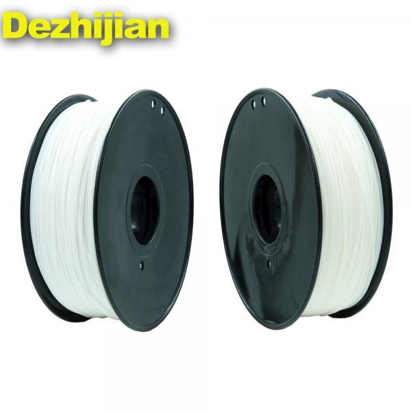 Quality White PLA 3D Printer Filament 1.75mm 1kg / 2.2lb ±0.02mm Tolerance for sale