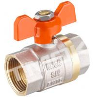 China 1/2 inch brass ball valve with brass body stainless steel butterfly handle and CE approved wholesale
