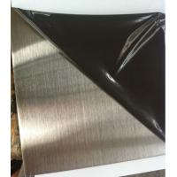 China SS 304 /201 hairline finish  1220mm x 2440mm stainless steel sheet wholesale