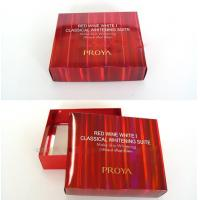 China Personalized Red Presentation Gift Cardboard Boxes with Lid for Wedding wholesale