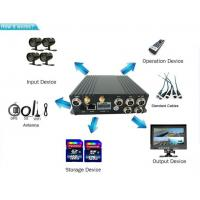 4ch multifunctional 720p 3g 4g wifi mobile bus dvr with gps for car bus taxi truck Manufactures