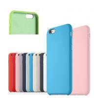 China Anti - Scratch Cell Phone Accessories 100% Original Official Silicone Case For IPhone wholesale