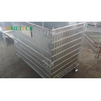 Buy cheap Warehouse 48 * 40 Pallet Rack Wire Decking , Industrial 42x46 Wire Decking from wholesalers