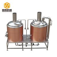 Buy cheap Rose Gold SS304 / 316 500L Small Brewery Equipment 50 / 60 Hz Frequency from wholesalers