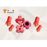 China RHC Steel Dth Hammer Button Bits , Geothermal Well Drilling Head High Performance wholesale