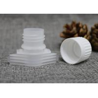 China 16mm Jelly / Milk / Mask / Cream Pack Plastic Pour Spouts With Screw Caps wholesale