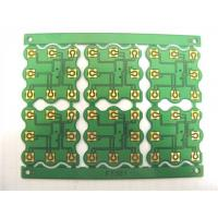 China Immersion Gold Single Sided PCB Board Green Solder Mask 1.0Mm Thickness wholesale