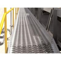 China Anti Skid Metal Plate Safety Grating , Perforated Grip Strut Walkway Grating on sale
