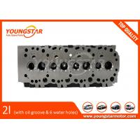 China Toyota 2L Cylinder Head Assy With Oil Groove And With Six Water Holes wholesale