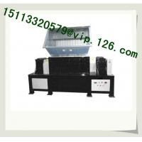 Big die head, pipe, plastic, woodwaste recycling line Double shaft shredder OEM Plant Manufactures
