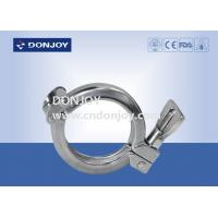 China Sanitary Tri Clamp Union Single Pin Clamp SS304 SMS / DIN/3A CE Certificate wholesale