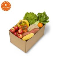 China Deluxe fruit packaging gift box square fruit and vegetable boxes wholesale