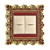 China High Quality Forged Brass Wall Power Switch With Classic Patterns wholesale