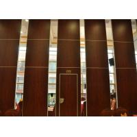 China Folding Door Movable Partition Walls ,  Vinyl Partition Wall For Meeting Room wholesale