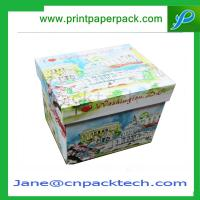 China Custom Printing Lid and Base Boxes Rigid Cardboard Boxes Gift Packaging Box Paper Box wholesale
