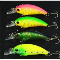 China Fishing Lure 4pcs 7.5CM/8.3G Pesca Crankbait Hard Bait Tackle Artificial Lures Swimbait wholesale