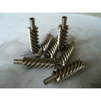 China Steel alloy and brass precision helical worm gear for reducer wholesale