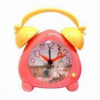 China Twin Bell Desk/Alarm Clock, Suitable for Home Decoration wholesale