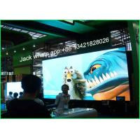 China Super Light P6 Mini Led Display Advertising Transparent Video Wall CE / UL wholesale
