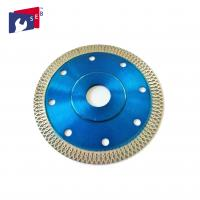 Quality 115 X 10 Mm Diamond Saw Blades Blue Color Polish Or Painted Finishing for sale