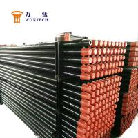China Deep Foundation Drilling Oil Drilling Pipe , Drill Stem Pipe Long Life Span wholesale