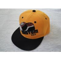 Buy cheap Personalized Cotton Strap Back Caps With Metal Buckle, 3d Embroidery Sports Snapback Hats For Kids from wholesalers