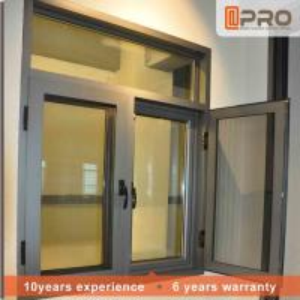 China Rainproof Aluminum Casement Windows Thermal Break Aluminium System Design wholesale