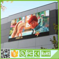 China Outdoor RGB LED Screen High Brightness Led Advertising Pitch 6mm Display wholesale