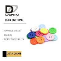 China Customizable Colorful Bulk Buttons For Baby Clothing Eco - Friendly wholesale