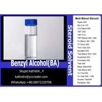 China Pharma Grade Muscle Gain Steroids Solvent Benzyl Alcohol (BA) For Steroid Liquid Homebraw wholesale