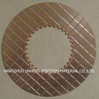 Buy cheap Caterpillar Copper Friction Plate from wholesalers