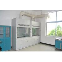 China Anti Acid Laboratory Fume Hood , PP Cup Sink Chemical Fume Cupboard wholesale