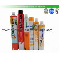 Hot Stamping Squeeze Tube Packaging , Pharmaceutical Aluminum Tubes Non Spill