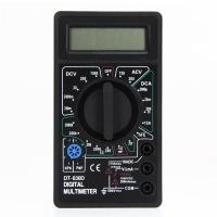 China Mini Digital Multimeter with Buzzer Voltage Ampere Meter Test Probe DC AC LCD wholesale