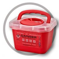 China 3 Litre Sharps disposal container, Sharps Container, Red sharps containers - WinnerCare wholesale