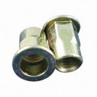 China M6 half hexagon rivet nuts in various sizes, made of carbon steel, aluminum, stainless steel wholesale