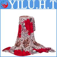 Buy cheap wholesale printing king size microfiber floral flower coral fleece baby bedding from wholesalers