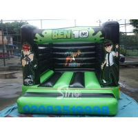 China Indoor small kids ben 10 bouncy castle with EN14960 certified made of lead free pvc tarpaulin on sale