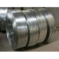 China Regular Spangle Hot Dipped Galvanized Steel Strip , Galvanized Metal Strips For Profiles wholesale