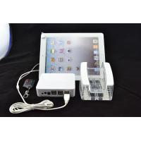 China COMER Transparent Acrylic Display counter Stands tablet security alarm controller stand wholesale