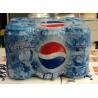 China PE Heat Shrinkable Shrink Packaging Material Shrink Plastic Film For Beverage Bottles wholesale