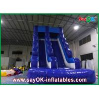 China 0.55mm PVC Inflatable Water Slide L6 x W3 x H5m Waterproof 3 Layers wholesale