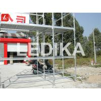 China Scaffold Tower Layer Truss Plastering Working Bench Outdoor Event Truss With Wheels wholesale