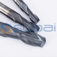 China 2 Flutes Solid Carbide Tungsten CNC Milling Cutter  End Mill Cutters for CNC Milling Machine wholesale