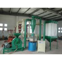China Low Noise PVC Pulverizer Machine For Medium Hard Friable Materials wholesale