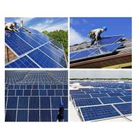 China 200 Watt Silicon Solar Panels Tempered Front Glass With Maximum Power Output wholesale